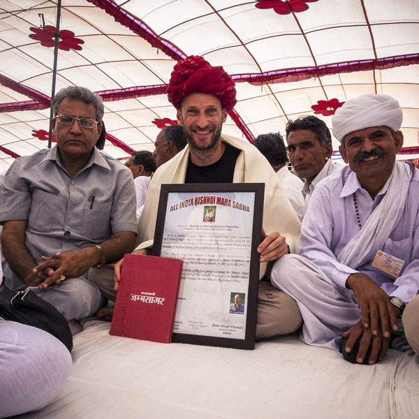 Bishnoi Highest Honors presented to Franck Vogel