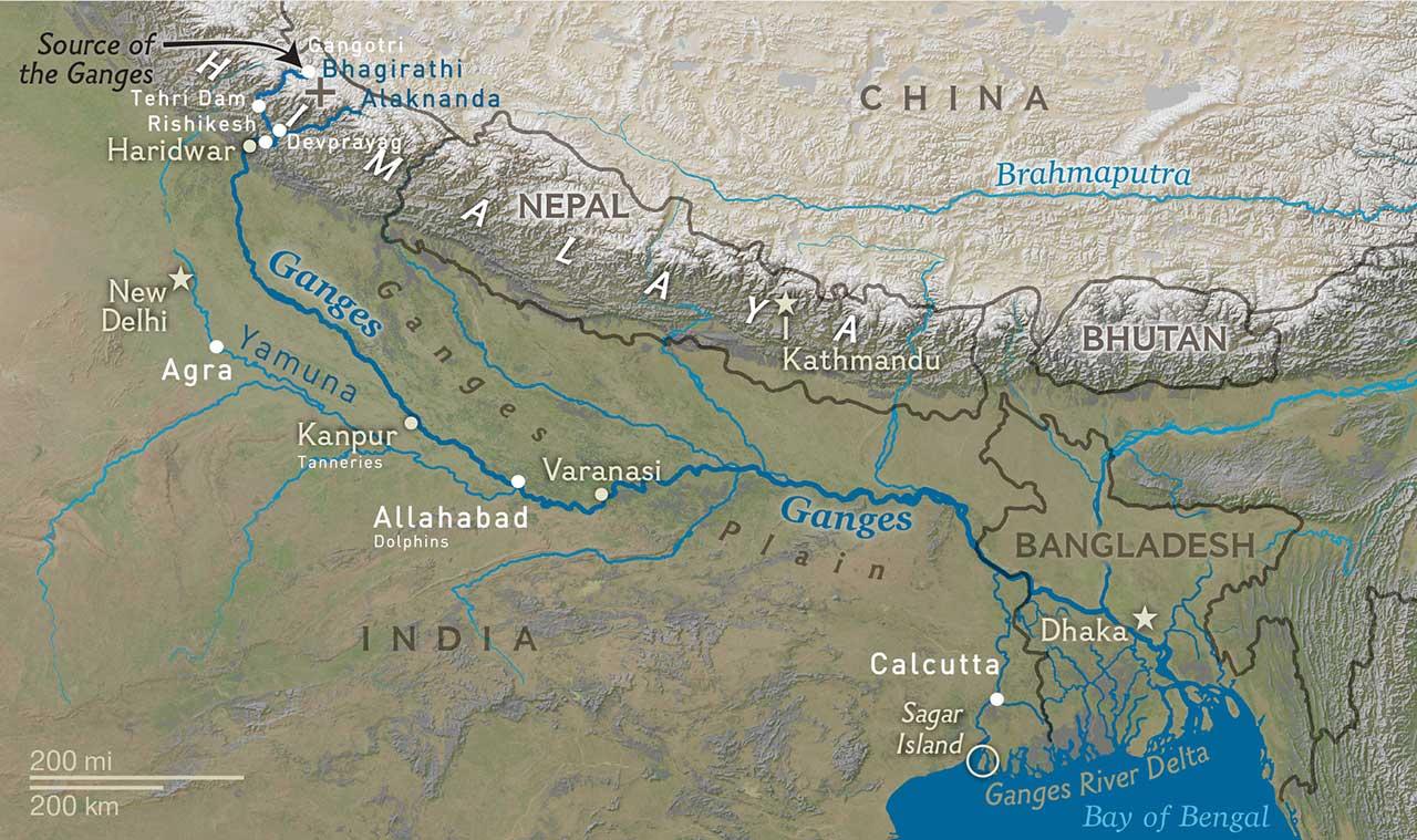 Portfolio: The Ganges, the Secrets of a River - FRANCK VOGEL