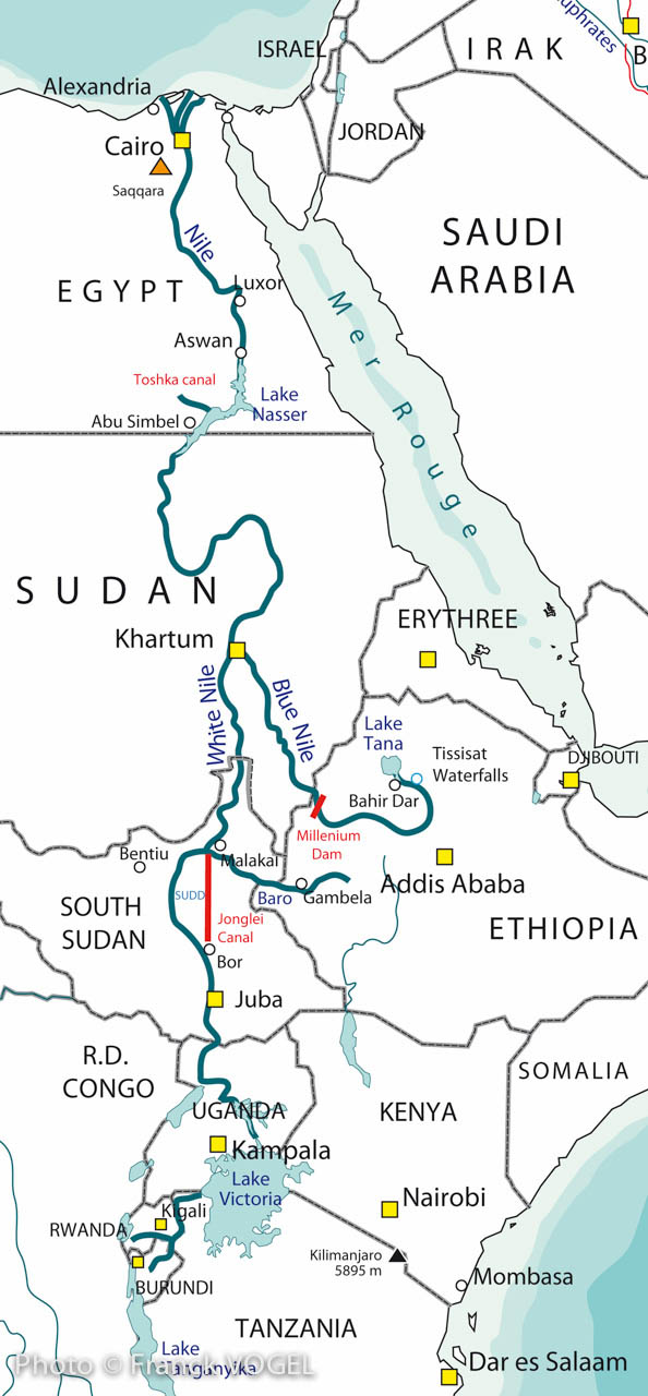 Portfolio The Nile  FRANCK VOGEL