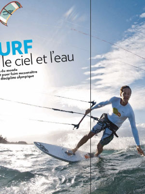 Paris Match - Kitesurf à Hawaï
